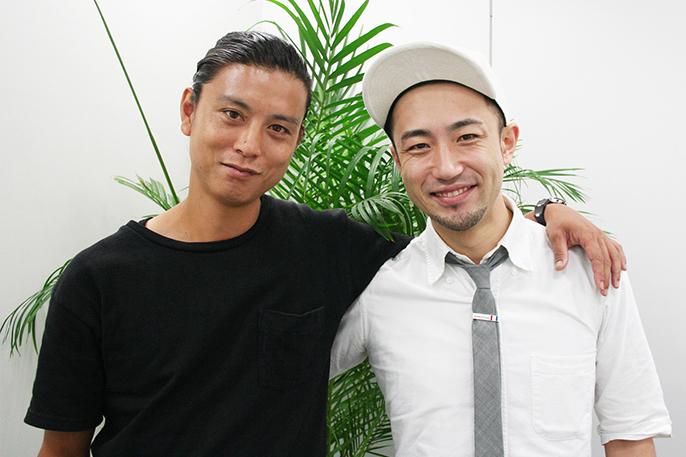盆栽師・平尾成志さんとPEEK-A-BOOトップスタイリスト・栗原貴史さんの対談写真04