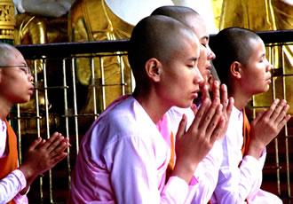 ミャンマーの僧侶