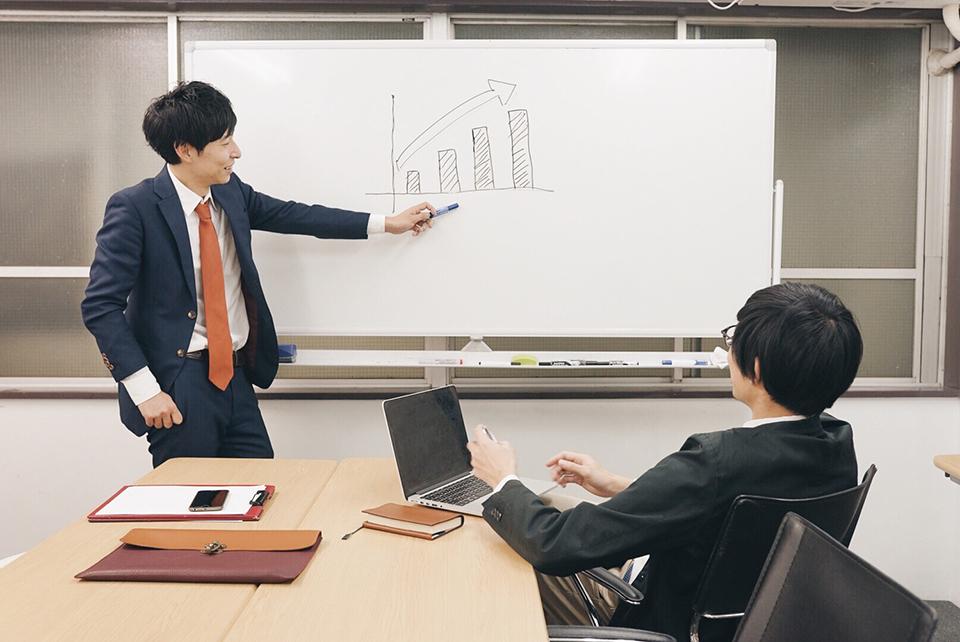 ウェブ広告戦略作成ミーティングのイメージ写真