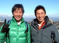 兄の健司氏とは、兄弟揃ってイベントに出演するなど精力的に活動している。(写真:スポーツ・ビズ提供)